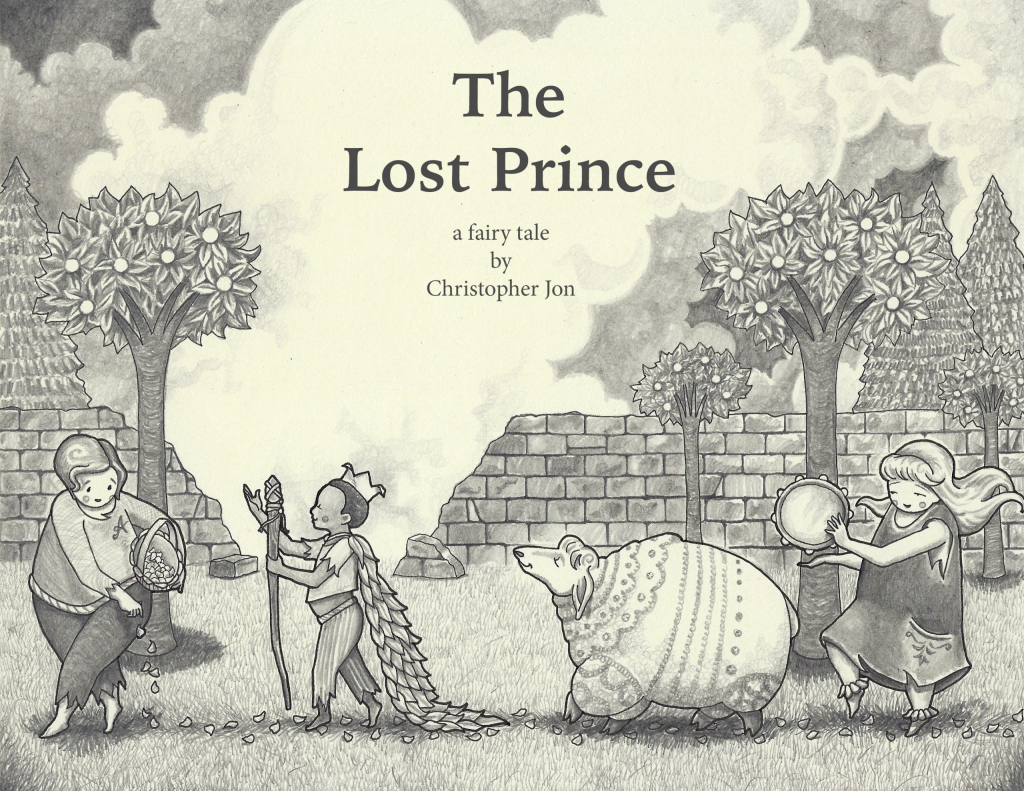 'The Lost Prince' cover art.